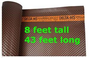 8-ft x 43 feet DELTA MS Waterproofing Membrane Foundation Wrap