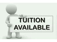 TUTION AVAILABLE IN BLACKBURN!!!