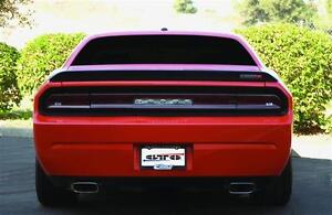 Taillight Covers Blackout 2008-2014 Challenger Rear Panel