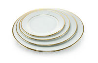LYDA gold trimmed dishes