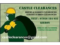 Clearances - house, shed, garden, garage etc