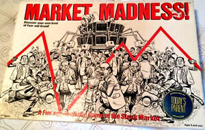 Market Madness Board Game, 1981, Complete
