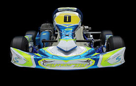 Cadet Kart, 60cc Race Ready Tuned Iame Engine Synergy Chassis AS NEW