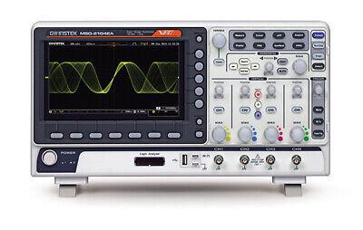 Gw Instek Mso-2204ea Oscilloscope Dso 200mhz 4ch 16ch Logic Analyzer 25mhz Afg