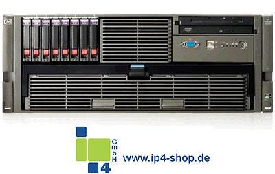 HP Proliant DL585 G2 G6 4x 2,4 Ghz AMD 8431 SIX-Core,  64 GB RAM, 8x 146 GB SAS  - Dl585 G2 Server