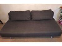 MUJI Sofa bed - Linen - Charcoal