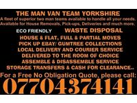 * MAN WITH A VAN * EXTRA LARGE | 2-MAN TEAM | LOW COST | RELIABLE SERVICES | PICK UPS AND DROP OFFS
