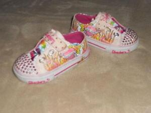 fe2f35740970 skechers twinkle toes toddler size 7