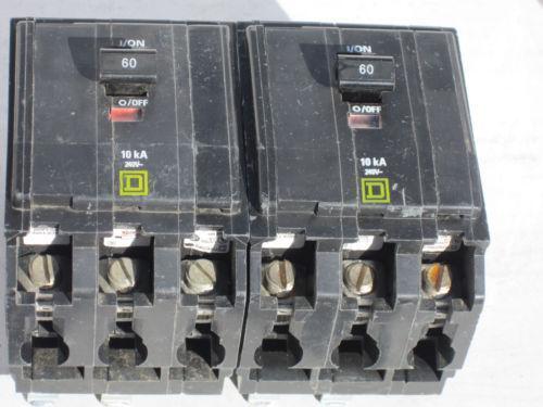 3ph 3p 100a amp 120 208v ac circuit breaker panel board d264597 ebaysquare d 3 phase breaker ebay3ph 3p 100a amp 120 208v ac circuit breaker panel board