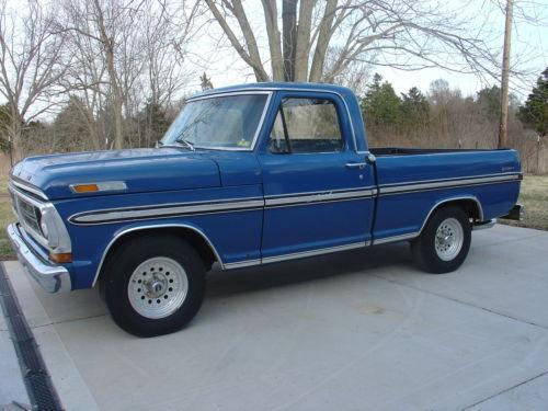 Image Gallery 72 Ford Truck