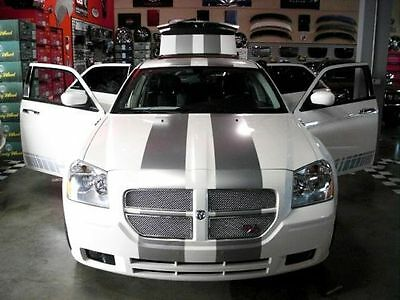 "All Year Dodge Magnum 10"" Plain Rally stripes Stripe Graphics SRT8 V6 V8 Hemi"