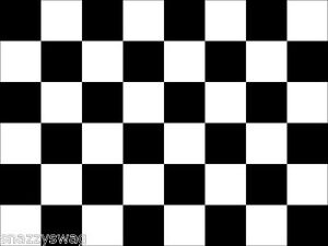 Car-Racing-Sports-F1-Checkered-Flag-Black-and-White-5-ft-x-3-ft-NEW-Great-Price