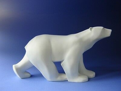 FRANCOIS POMPON Polar Bear Animal Sculpture Figure Figurine Statue France Art L