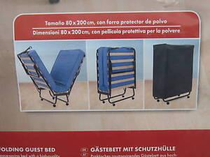 Brandina letto trasformabile pieghevole per ospiti rete - Rete letto singolo pieghevole ...