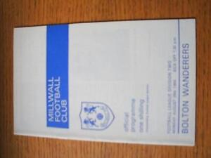 26-08-1968-Millwall-v-Bolton-Wanderers-Item-In-very-good-condition-unless-pre