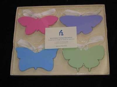 Pottery Barn Kids Chalkboard 4p Butterfly Labels Set