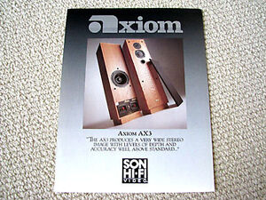 Axiom-AX-3-speaker-review-reprint