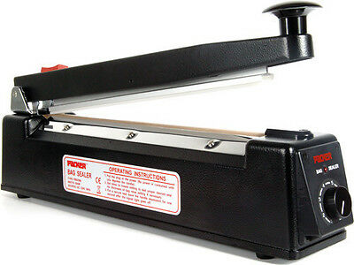 PROFESSIONAL PACKER HEAT SEALER WITH CUTTER 400MM WIDE