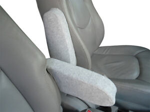Auto-Armrest-Covers-For-Cars-Trucks-Vans-SUV-s-PAIR-OF-LARGE-LIGHT-GRAY
