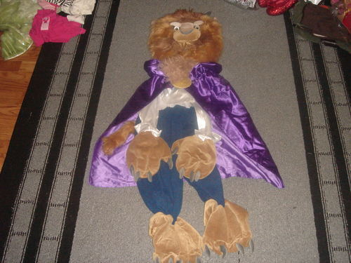 RARE THE DISNEY STORE BEAUTY AND THE BEAST COSTUME XXS