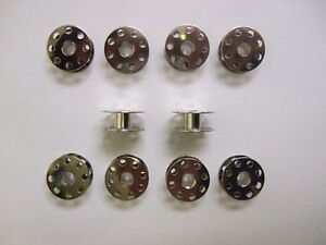 10 Industrial Sewing Machine Bobbins Brother, Juki, Singer, Toyota