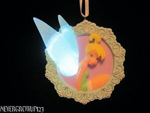 COLLECTIBLE-DISNEY-TINKERBELL-LIGHTED-ORNAMENT-NWT