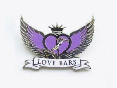 Love Bars Gymnastics Lapel Pin Spectacular Design