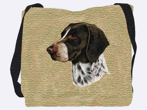 Woven Tote Bag - German Shorthaired Pointer 1946 IN STOCK