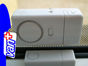 MILENCO SLEEP SAFE ALARM (PACK OF 6) SECURITY MOTORHOME / CARAVAN / CONVERSION