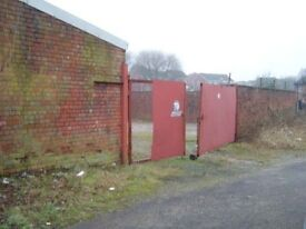 for sale freehold land and workshop 3500sq ft close to wigan town centre