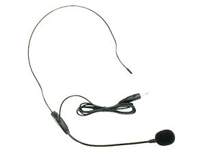 Plug-to-Use-3-5mm-Jack-Aker-Voice-Headset-Headworn-Head-Mounted-Mic-Light-Weight