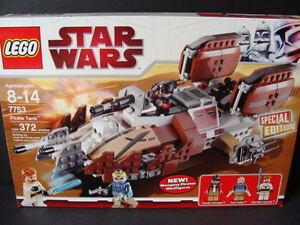 New-LEGO-STAR-WARS-Pirate-Tank-7753-Clone-Ship-Obi-Wan-Minifigures-Weequay-NIB