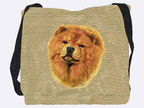 Woven Tote Bag - Chow Chow 1165 IN STOCK