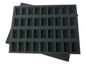 Infantry  Miniature Model Foam Tray - Perfect for 28mm Models and G.W. Cases
