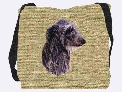 Woven Tote Bag - Scottish Deerhound 3325