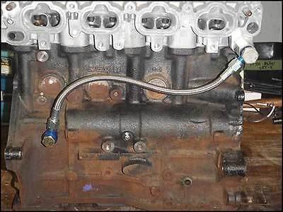 Map Mivec Oil Feed Line 2.4l Evo 9 Conversion Mitsubishi Evolution
