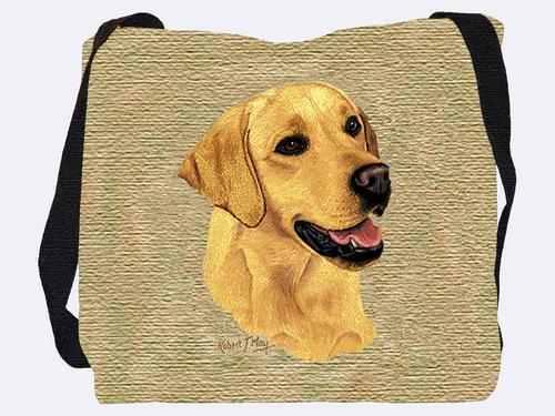 Woven Tote Bag - Yellow Labrador Retriever 1152