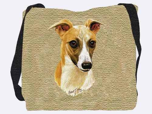 Woven Tote Bag - Whippet 1174 IN STOCK