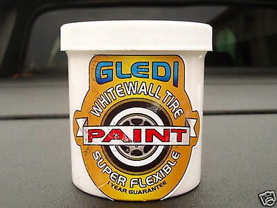 WHITE WALL TIRE PAINT SUPER FLEX/NO CRACKING,WHITEWALL,classic,vintage,tyre