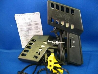 2 Tyco Mattel 3-speed Ho Slot Car Controllers Mint Nice