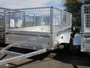 HOT DIPPED 10 X 5 DUAL AXLE TRAILER 2000KG TAKE HOME  NO DEPOSIT Southport Gold Coast City Preview
