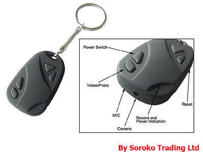 NEW Hot Car Key Chain Hidden Web Spy Camera DVR video Recorder on Rummage