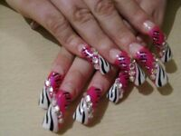 Amazing NAILS workshop from acrylic to gel and 3D nail art!