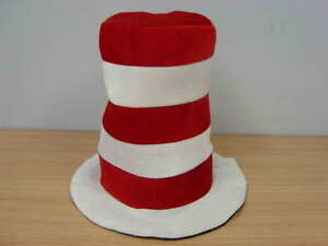 Dr Seuss Cat In The Hat Adults Costume Hat Costume Party Fancy Dress Birthday