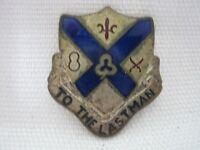 WW2 American 135th Infantry Regiment Unit Insignia