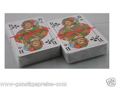 Orig-Romme-Kartenspiel-Spitze Qualität-2x 55 Blatt