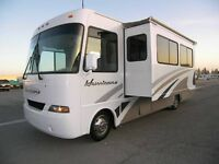 FOR RENT 32 Foot Class A Motorhome RV RENTAL OUT OF SUDBURY