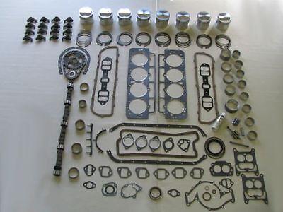 Master Engine Rebuild Kit 62 63 64 65 66 Buick 401 V8 NEW Pistons Rocker Arms