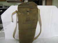 WW2 U.S. Training Gas Mask M1A1 Bag