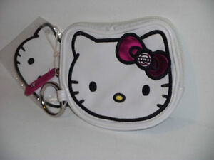 NWT-Hello-Kitty-Candies-Face-Coin-Bag-with-Keyring-from-Loungefly